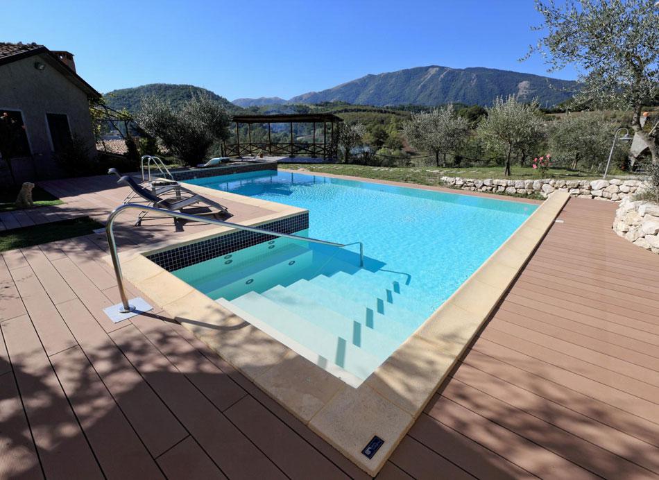 Piscine rimini di progetto verde co progetta installa for Costo per costruire una piscina olimpionica