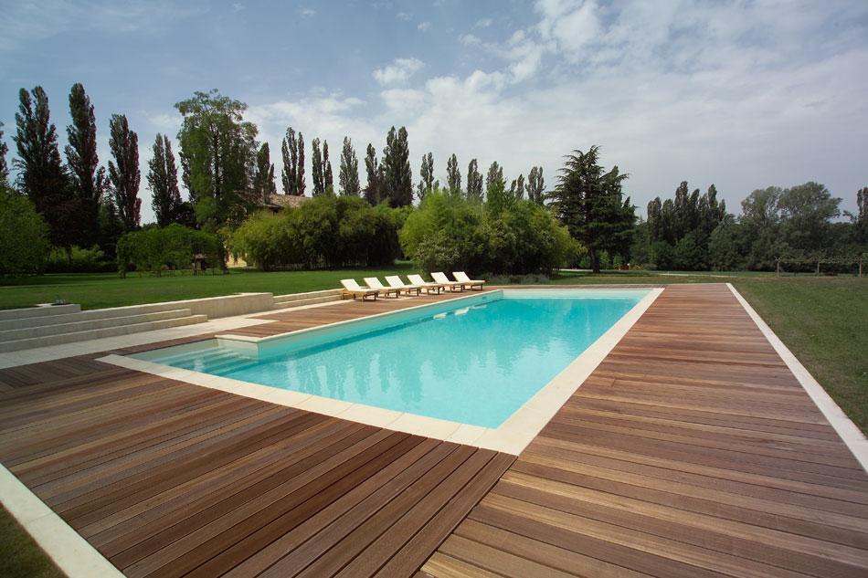 Piscine rimini di progetto verde co progetta installa - Foto di piscine interrate ...